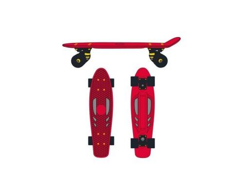 Круизер пластиковый Ridex Crimson 22''x6'' ABEC-7