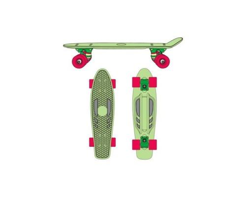 Круизер пластиковый Ridex Greencie 22''x6'' ABEC-7