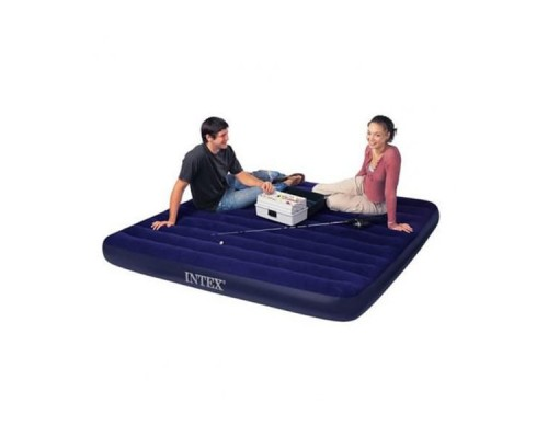 Двуспальный надувной матрас Intex 68755 (183х203х22см)