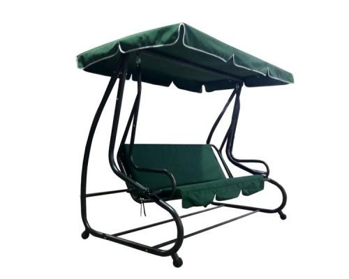 Качели-кровать садовые 3-х местные WK-025