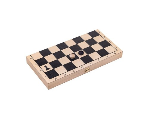 "Игра 2 в 1 (шахматы, шашки) ""Классика"" малая арт.023-10"