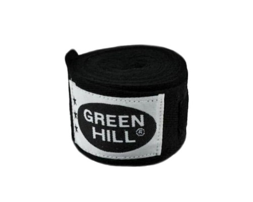 Бинт боксерский Green Hill BC-6235c 3,5м черный