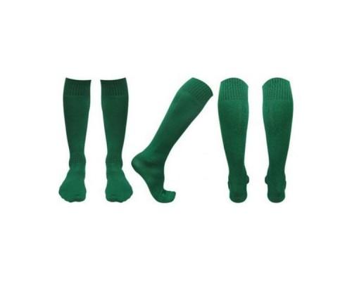 Гетры футбольные зеленые р. 36-38