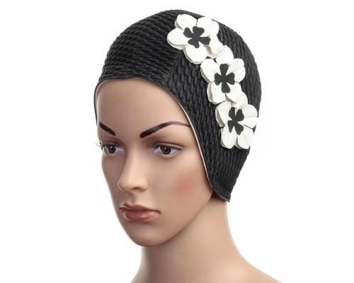 Шапочка для плавания женская FASHY Babble Cap with Flowers