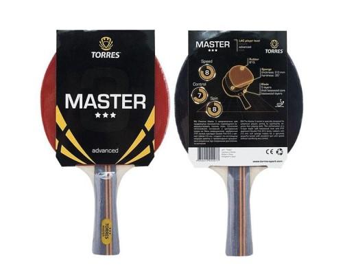 Ракетка для настольного тенниса Torres Master 3* арт. TT0007