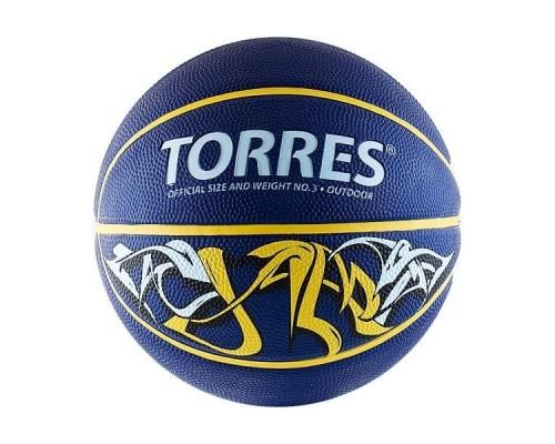 Мяч баскетбольный Torres Jam р.3