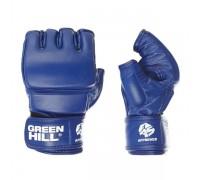 Перчатки для боевого самбо Green Hill MMF-0026a-XL-BL р.XL синие