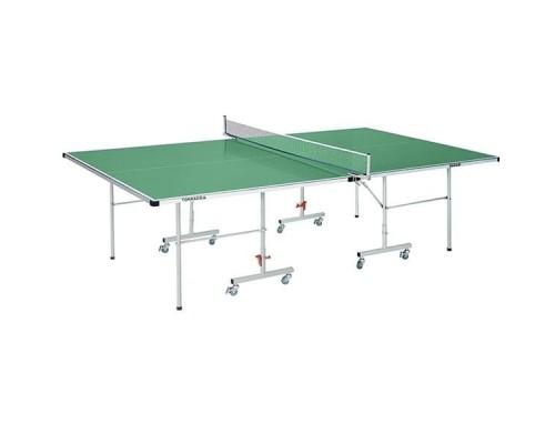 Всепогодный теннисный стол DFC Topnado S600G 4 мм с сеткой (зеленый)