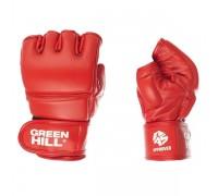 Перчатки для боевого самбо Green Hill MMF-0026a-XL-RD р.XL красные