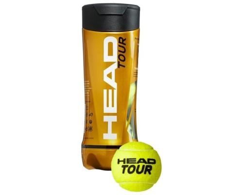Мяч теннисный HEAD TOUR 3B уп.3 шт