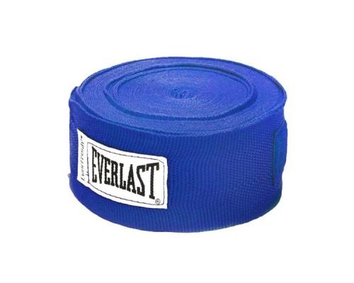 Бинт боксерский Everlast 4465BL 2.5 м синий