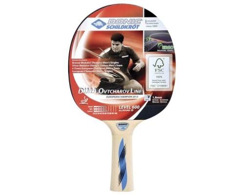 Ракетка для настольного тенниса Donic Schidkroet Ovtcharov 600 FSC арт.724406