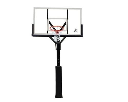 Баскетбольная стационарная стойка DFC ING72G 180x105CM
