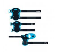 Комплект защиты Ridex Rapid, голубой р.S