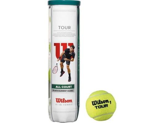Мяч теннисный WILSON All Court 4B 4 шт.