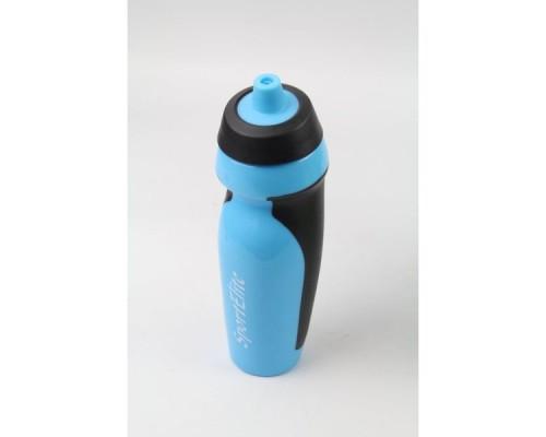 Бутылка спортивная В-420 600 мл, голубой/черный