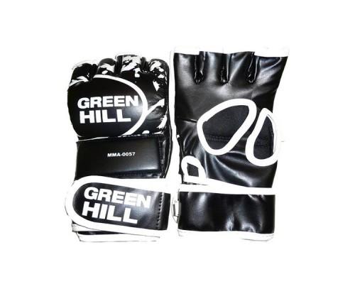 Перчатки Green Hill MMA-0057 черные р.XL