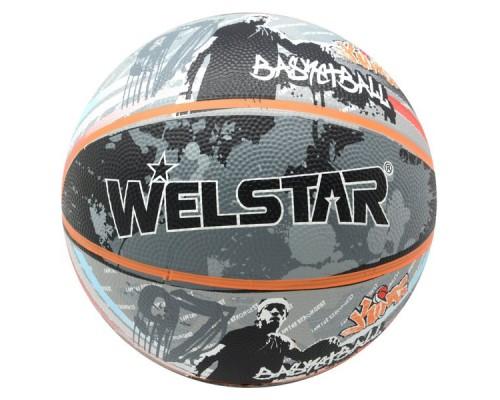 Мяч баскетбольный Welstar BR2894C р.7