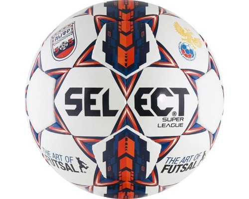 Мяч футзальный SELECT Super League АМФР РФС р.4 арт.850717-172