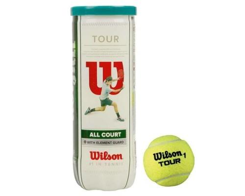 Мяч теннисный WILSON All Court 3B 3 шт.