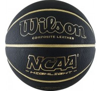 Мяч баскетбольный WILSON NCAA Highlight Gold р.7