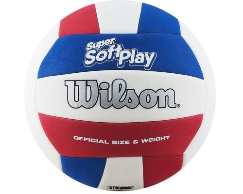 Мяч волейбольный Wilson Super Soft Play р.5