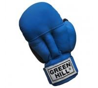 Перчатки для рукопашного боя Green Hill PG-2047 синий р.S