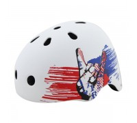 Шлем защитный д/катания на скейтборде Action PWH-890 р.M (55-58 см)
