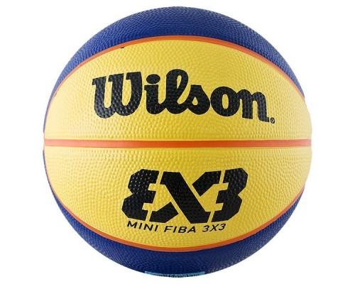 Мяч баскетбольный для стритбола WILSON FIBA3x3 Replica р.3