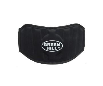 Пояс для тяжелой атлетики Green Hill WLB-6732A черный р.XL