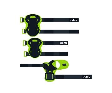 Комплект защиты Ridex Rapid, зеленый р.S