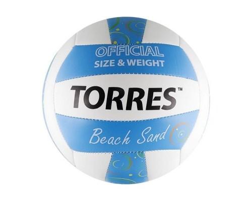 Мяч для пляжного волейбола Torres Beach Sand Blue р.5