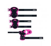 Комплект защиты Ridex Rapid, розовый р.M