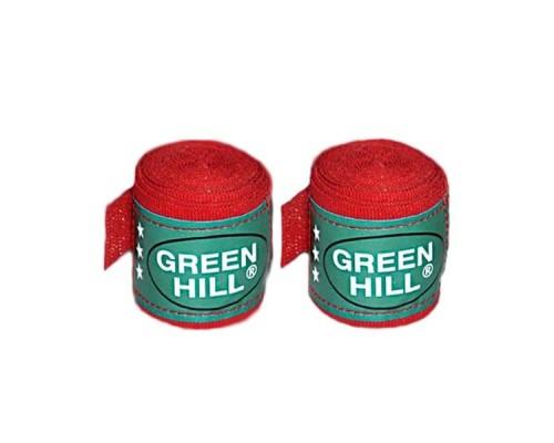 Бинт боксерский Green Hill BC-6235a 2,5м х/б красный