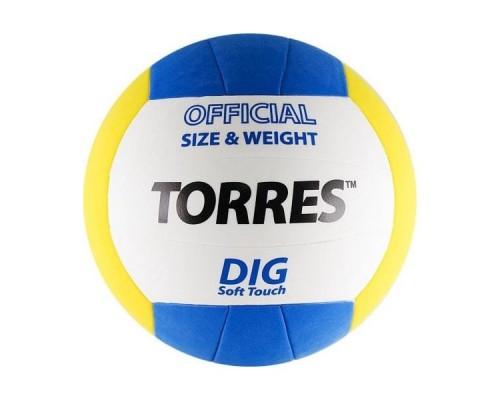 Мяч волейбольный Torres Dig р.5