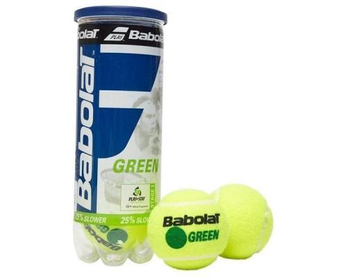 Мяч теннисный Babolat Green уп.3 шт