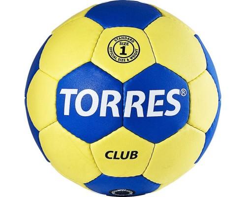 Мяч гандбольный Torres Club р.1