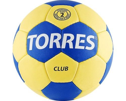 Мяч гандбольный Torres Club р.2