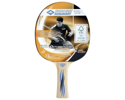 Ракетка для настольного тенниса Donic Schidkroet Ovtcharov 300 FSC арт.705232