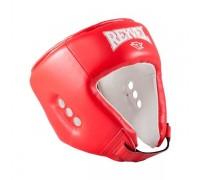 Шлем открытый Reyvel RV- 302 к/з красный р.M