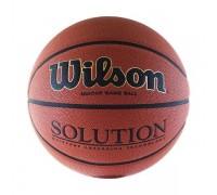 Мяч баскетбольный WILSON Solution р.6