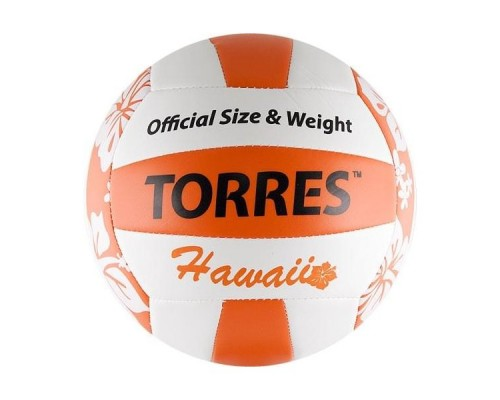 Мяч для пляжного волейбола Torres Hawaii р.5