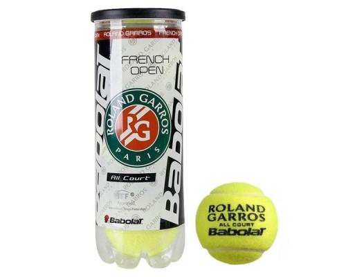 Мяч теннисный Babolat French Open All Court 3 шт