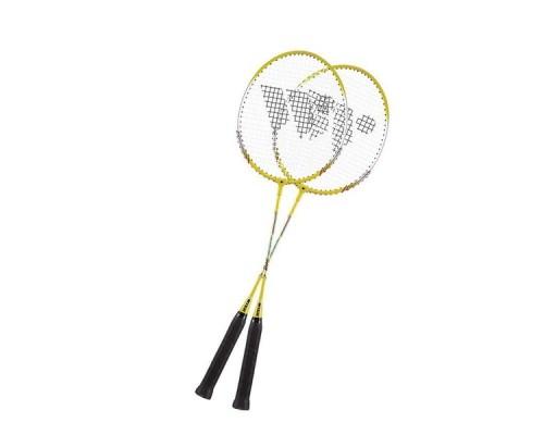 Набор для бадминтона Wish Alumtec 308 желтый/серый/черный