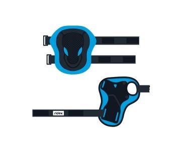Комплект защиты Ridex Robin, голубой р.L