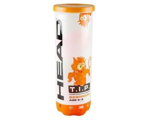 Мяч теннисный HEAD T.I.P Orange уп.3 шт