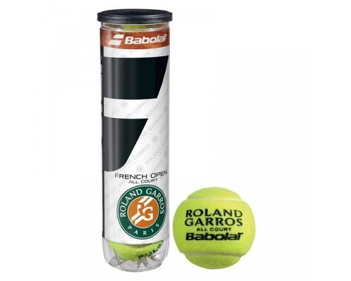 Мяч теннисный Babolat French Open All Court уп.4 шт