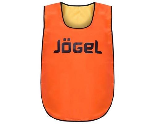 Манишка двухсторонняя Jogel JBIB-2001 детская, желтый/оранжевый