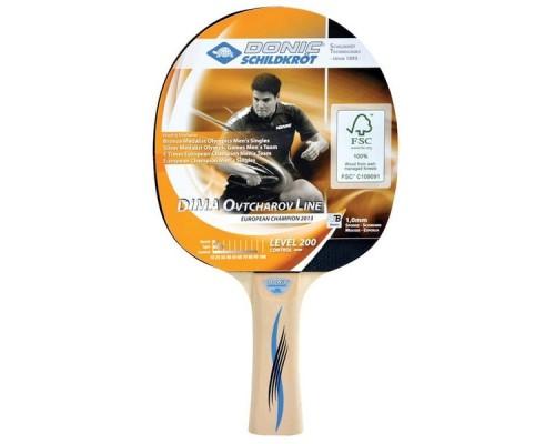 Ракетка для настольного тенниса Donic Schidkroet Ovtcharov 200 FSC арт.705222