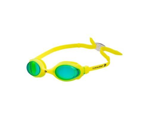 Очки для плавания детские LongSail Kids Marine L041020 зеленый/желтый